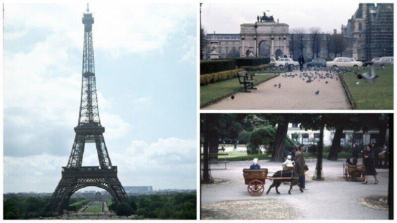 Париж 1970-х годов глазами советского туриста