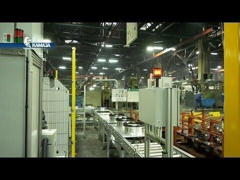 На заводе двигателей «КАМАЗа» запускаются три новых линии