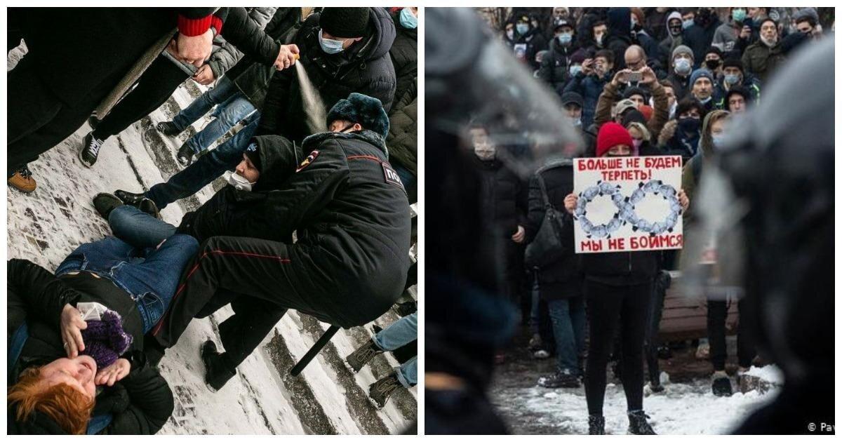 Первый пошел: участник незаконных зимних протестов получил реальный срок
