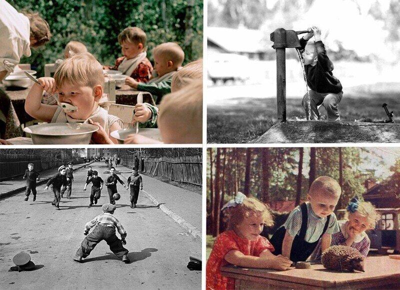 Ретро фото о детстве