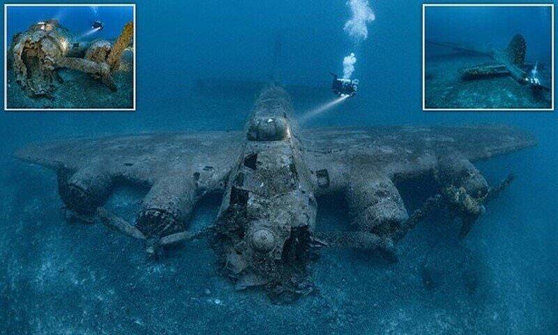 На дне Адриатики нашли бомбардировщик Второй мировой