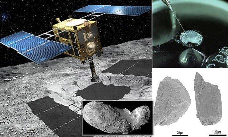 Астероид Итокава подал признаки жизни