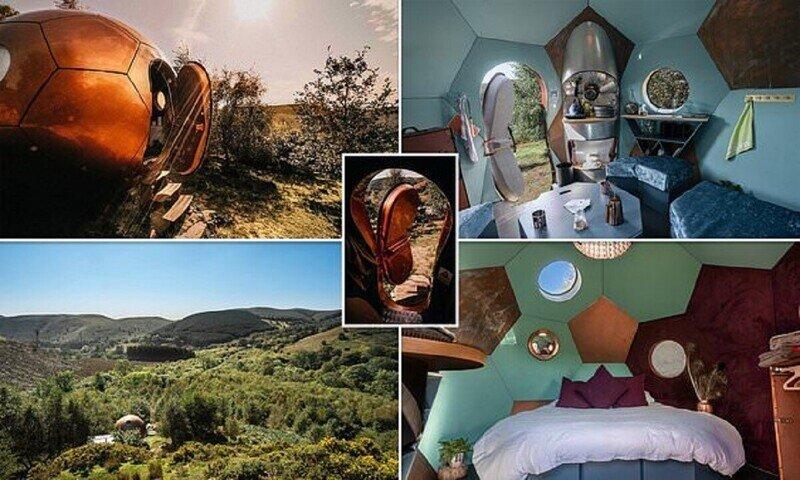 В Уэльсе построили безумный отель в стиле стимпанк