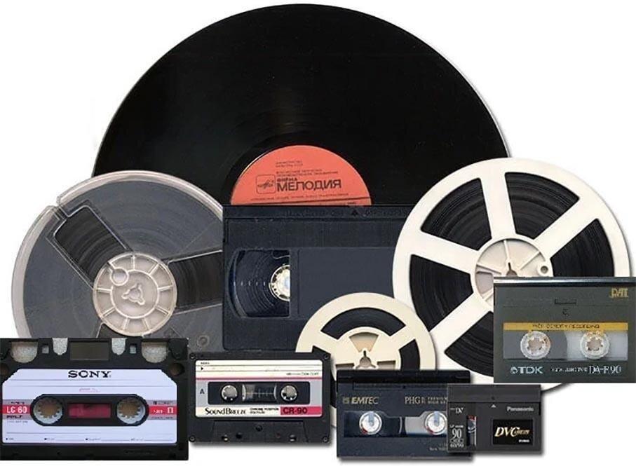 Десятки видов звукозаписи родилось и умерло всего за одно поколение. Сколько Вы вспомните навскидку?