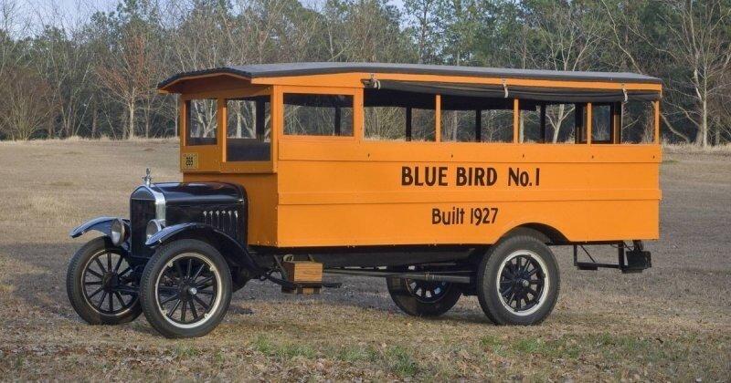 Эволюция школьных автобусов за 100 лет: автомобили для доставки детей в учебные заведения