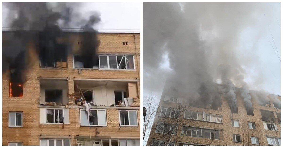 В Химках прогремел взрыв в одном из жилых домов