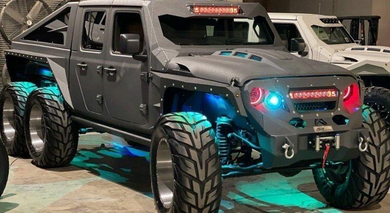 Jeep Apocolypse Hellfire 6×6 с двигателем V8 мощностью 750 «лошадок»