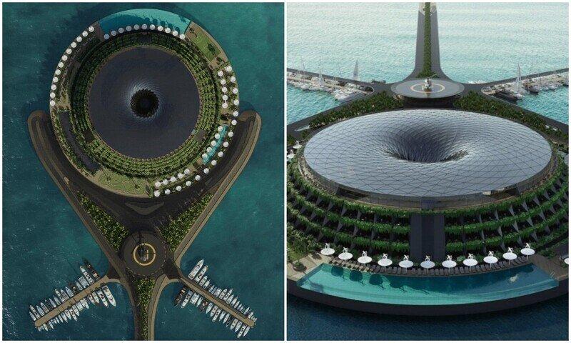 Архитекторы придумали вращающийся эко-отель