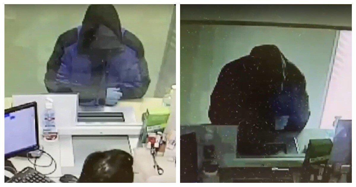 Бандит написал записку о бомбе в банке, но денег не получил