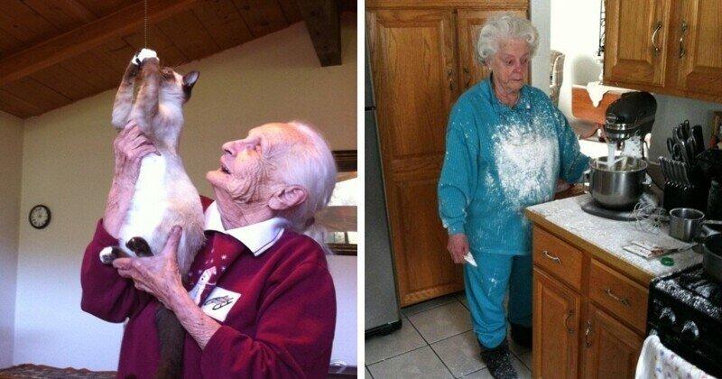 Тот случай, когда старость в радость