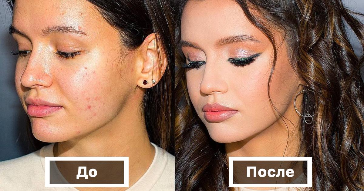До и после: 30 примеров того, на что способен хороший визажист