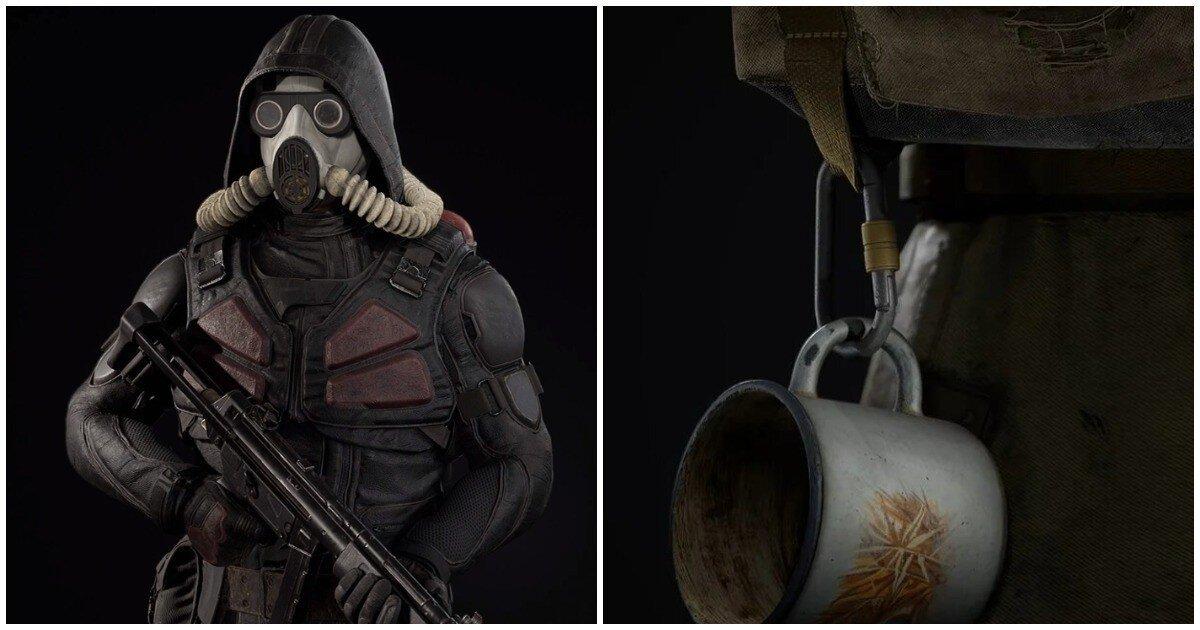 Разработчики S.T.A.L.K.E.R. 2 показали экипировку фракций и модели оружия