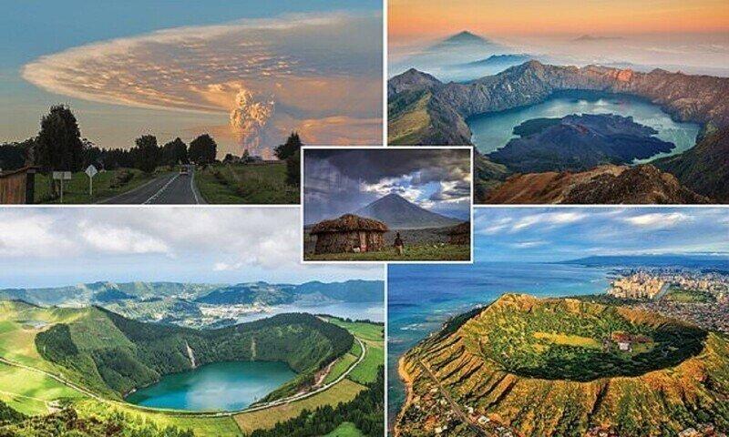 Самые грандиозные вулканы планеты