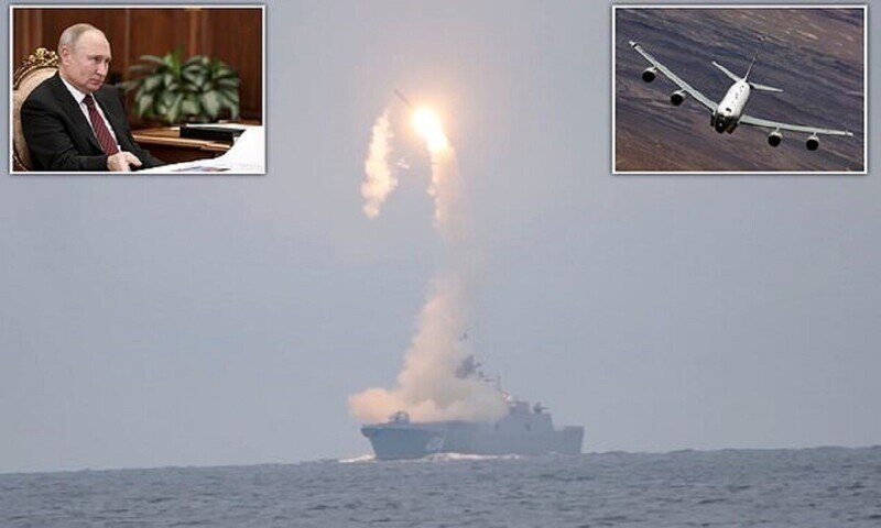 Россия запускает гиперзвуковые ракеты, а Британия подсматривает