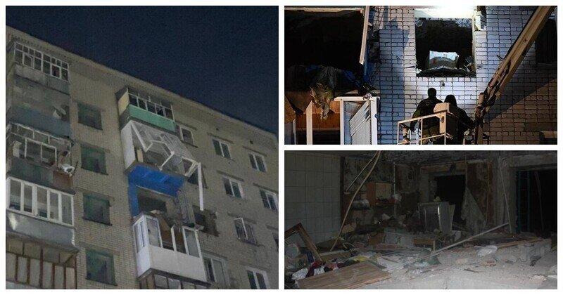 Взрыв газа в многоэтажке в Зеленодольске уничтожил семь квартир