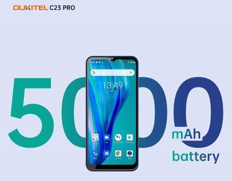 Oukitel C23 PRO: что представляет собой смартфон за 100 $