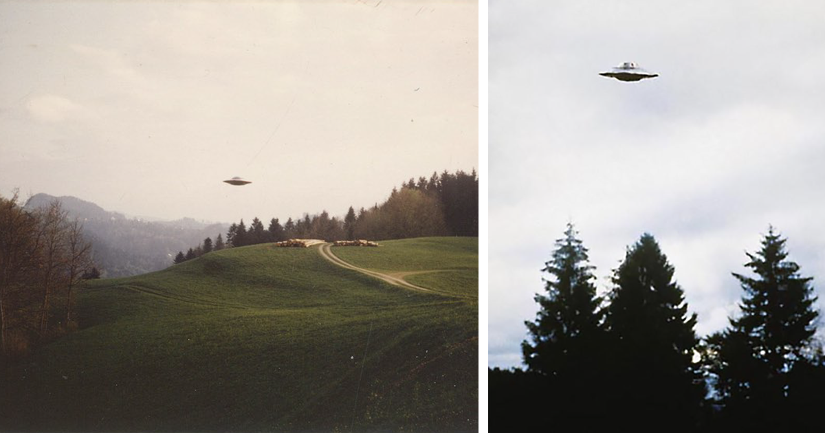 Хочу верить: фантастические снимки НЛО Билли Майера