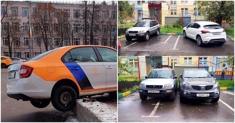 Мастера парковки, которых ненавидят всем двором