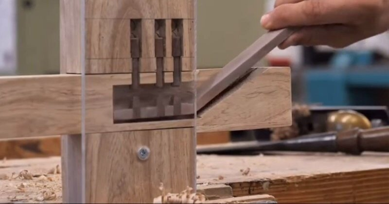 Изготовление копии древнего деревянного дверного замка