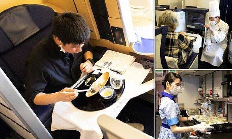 """Заоблачный сервис: японская авиакомпания открыла """"крылатый ресторан"""""""