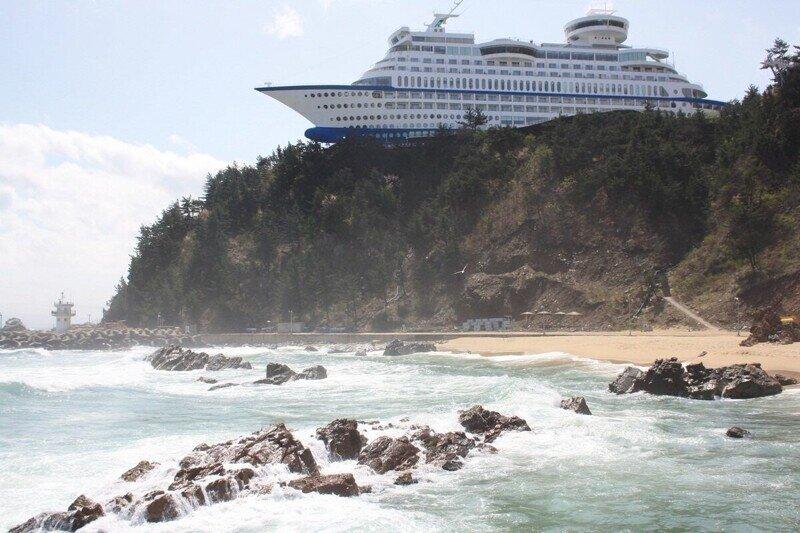 Отель Sun Cruise Resort, расположенный в южнокорейской провинции Канвондо
