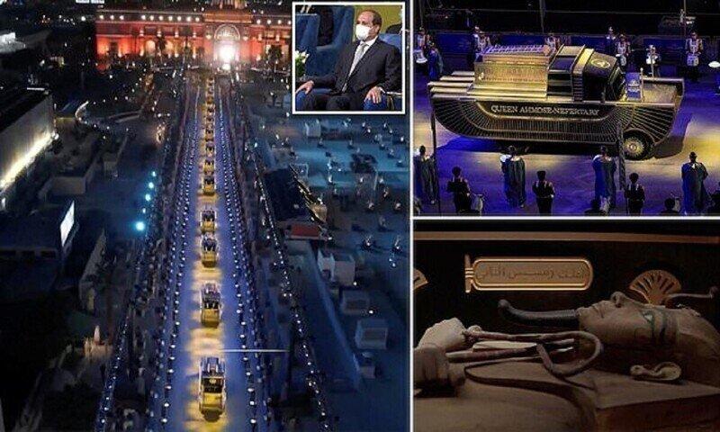 В Египте прошел парад мумий
