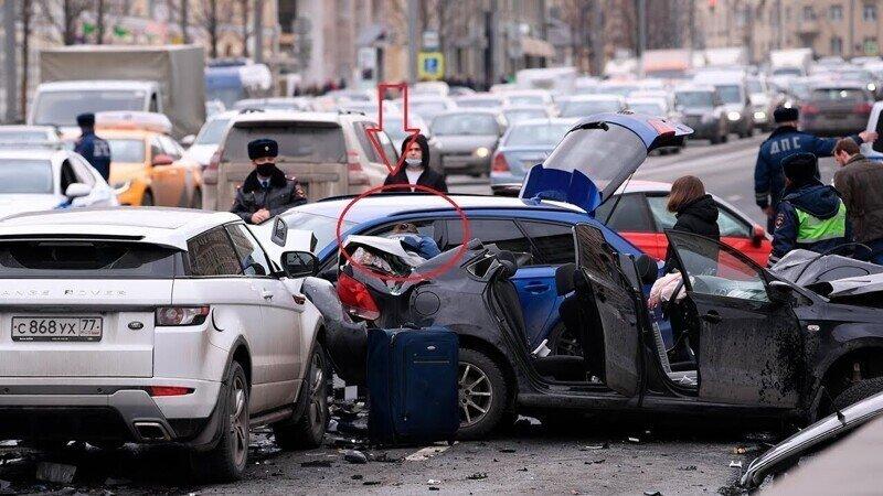 Блогер Бил Эдвард на скорости 150 км в час убил Kонсультантa Госдумы Марию  Артемовy в центре Москвы