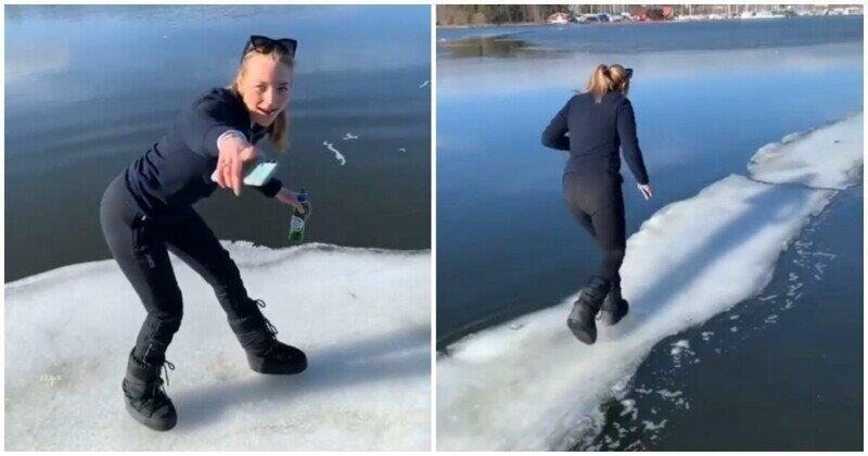 Почти получилось: неудачный весенний забег по льдинам