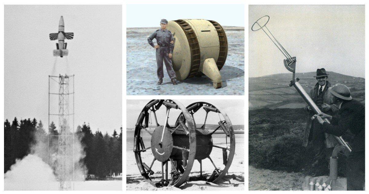15 невероятных и необычных военных проектов, о которых мало кто знает