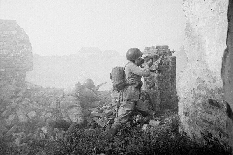 Великая Отечественная война на фотографиях Семёна Фридлянда