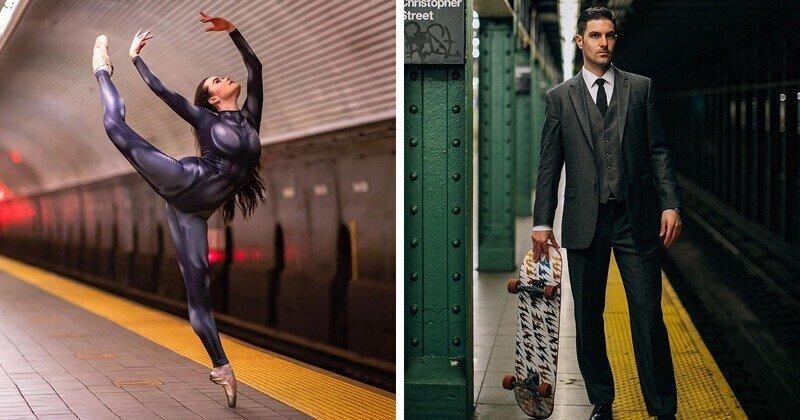 Кого только не увидишь в метро в Нью-Йорке!