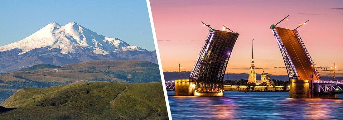 9 мест в России, где хорошо вдвоем