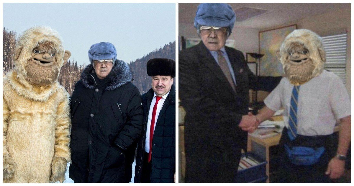 Экс-губернатор Кузбасса наряжал чиновников в костюм Йети для привлечения туристов в регион