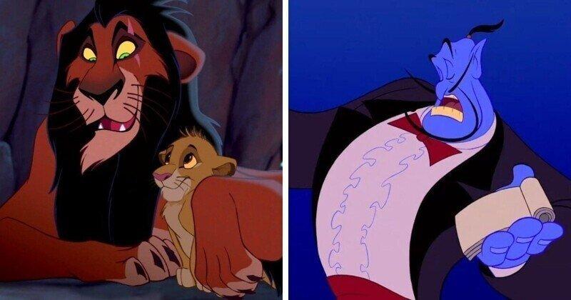 17 незаметных деталей из мультиков студии Disney
