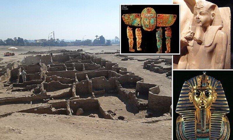 Археологи нашли в Египте золотой город