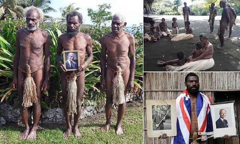 Тихоокеанское племя, которое поклонялось принцу Филиппу как богу, погрузилось в траур