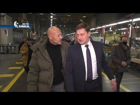 Фёдор Бондарчук на «КАМАЗе» — премьера сериала «Мастер»