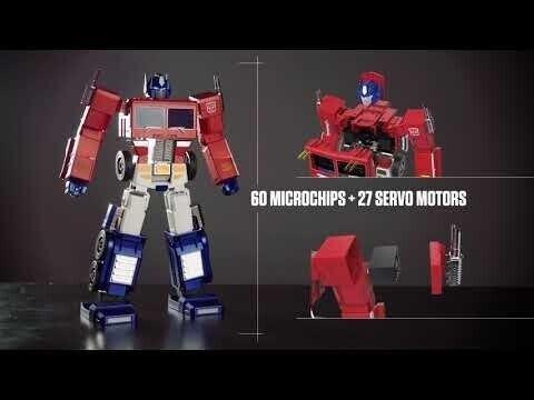 Hasbro показала игрушку Оптимуса Прайма с автоматической трансформацией