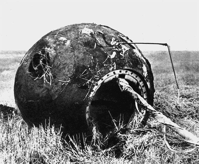 Что пришлось пережить Гагарину во время спуска