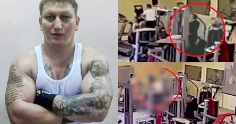 В фитнес-центре Москвы застрелили вора в законе Альберта Рыжего: видео