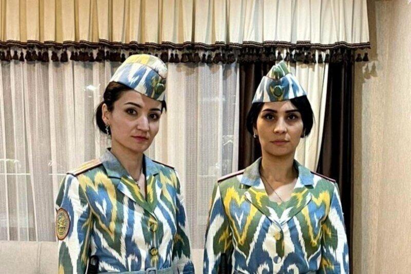 На службу - как на праздник: в МВД Таджикистана показали новую форму женщин-полицейских