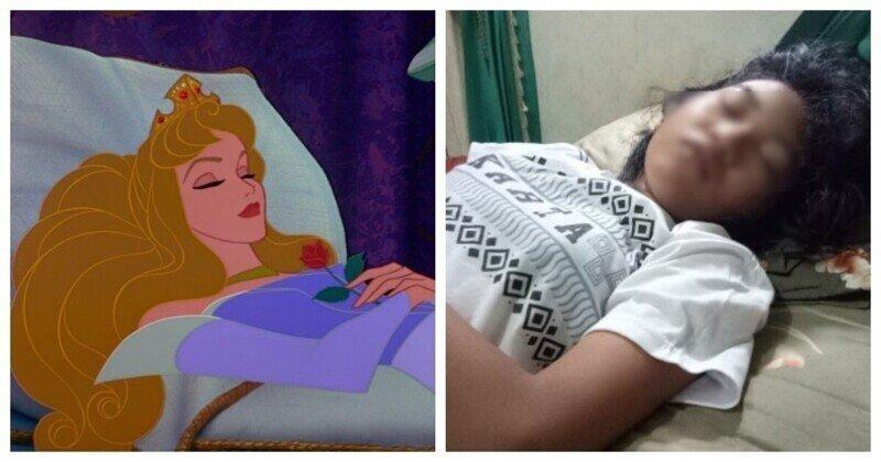 Синдром спящей красавицы: девочка неделями не выходит из сна