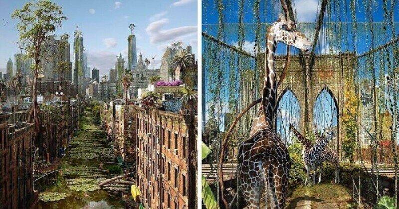 Города без людей: цифровые фантазии на тему постапокалипсиса