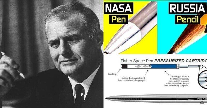 Как создавалась ручка, которой пишут космонавты