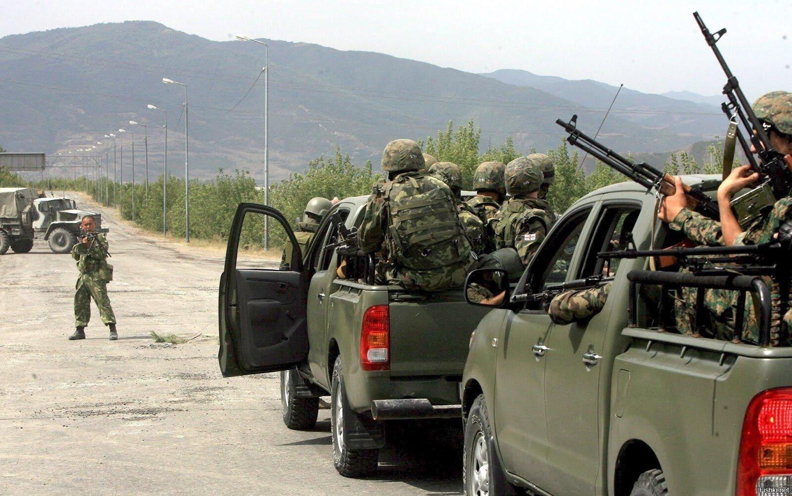 События в Южной Осетии,Грузии 2008 года