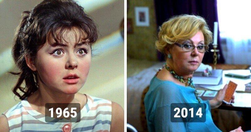 Первая и последняя роль известных актрис