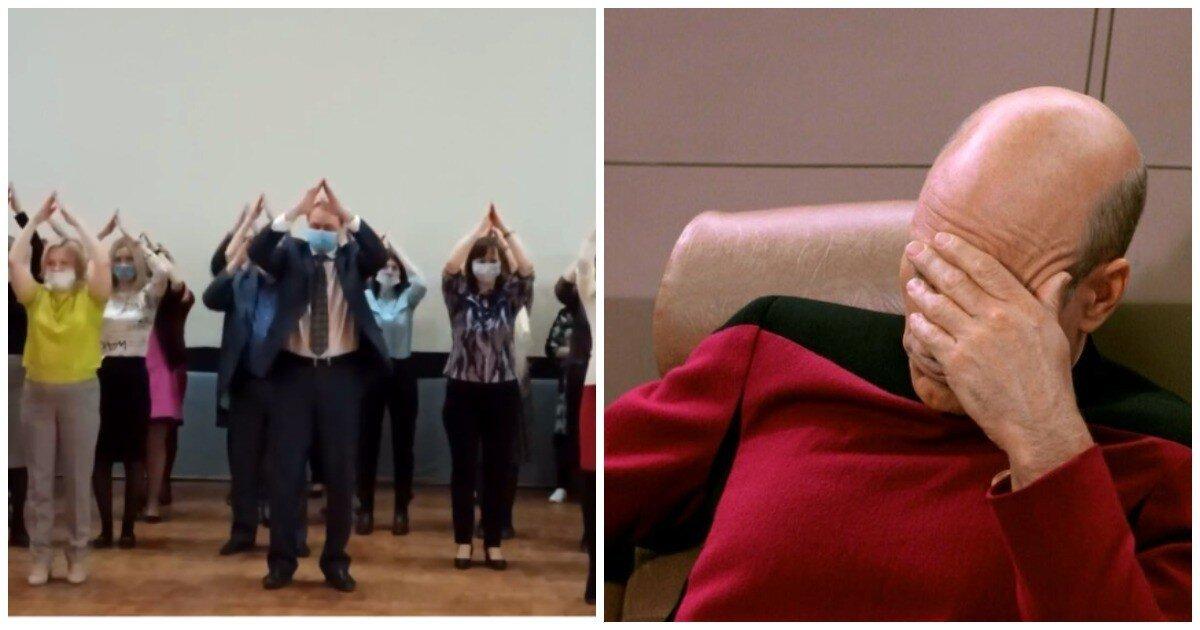 Мэр Коряжмы исполнил зажигательный танец «Я ракета»