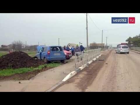 В Крыму 12-летний ребёнок на иномарке сбил 60-летнего велосипедиста