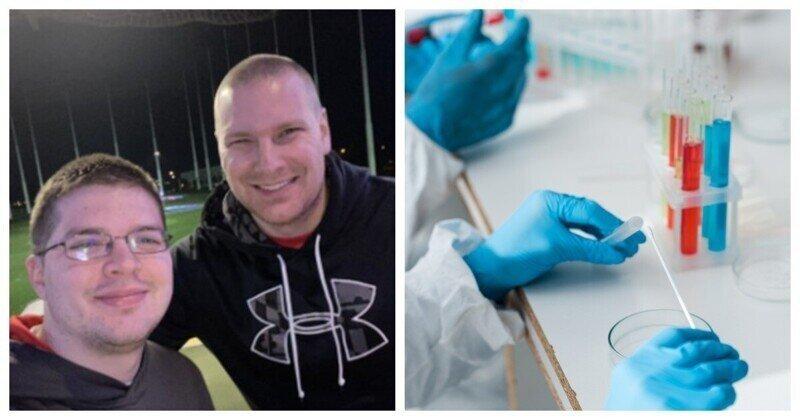 С помощью ДНК-теста мужчина нашёл единокровного брата, о котором никто не знал