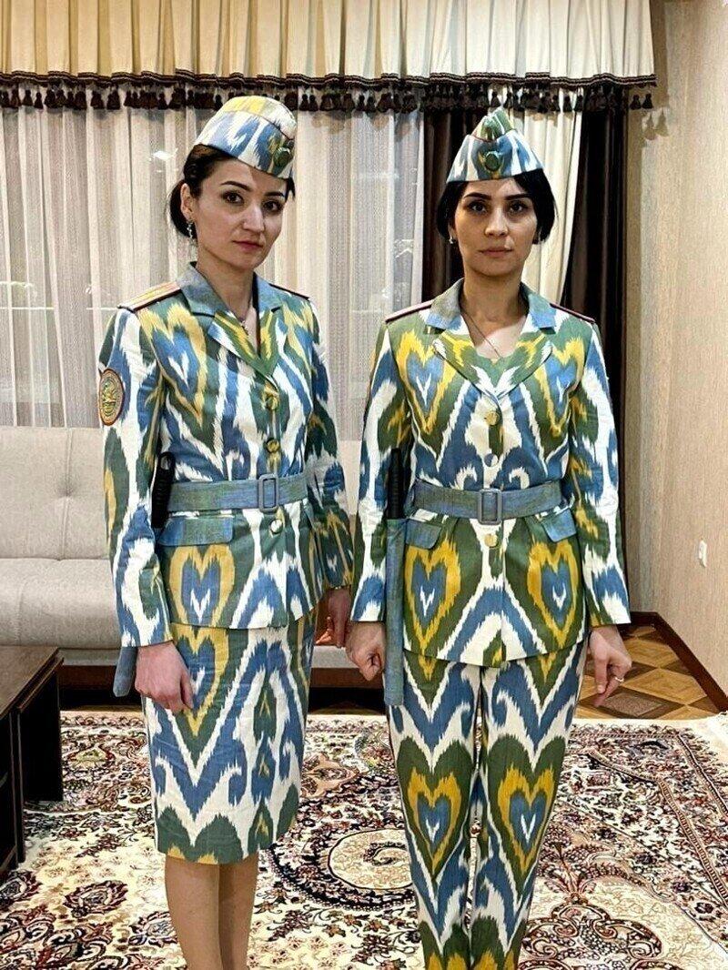 Работа как праздник: новая парадка для сотрудниц милиции Таджикистана